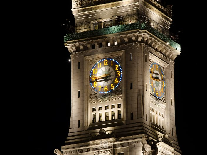 Custom House Clock