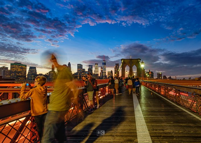 Hustle & Bustle – Brooklyn Bridge