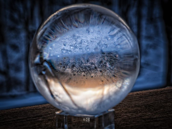 Icy Lens Ball